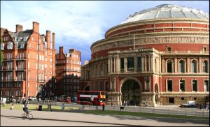 The Royal Albert Hall by coukiedoe