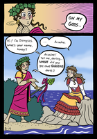 Dionysos and Ariadne by A-gnosis