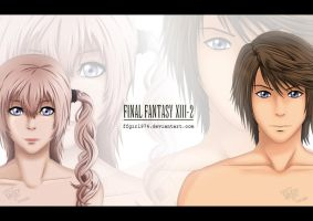 Final Fantasy XIII-2 by FFgirl974