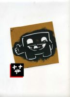 Super meat boy stencil by heely