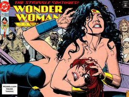 Wonder Woman #71 by Superman8193