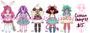 MORE Monster Girls Adopts! CLOSED by rap1993