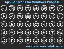 App Bar Icons for Windows ... by shockvideoee