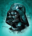 Vader, with color. by aethibert