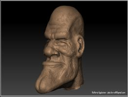 Speed Sculpt - Man by Rafferty-Eggleston