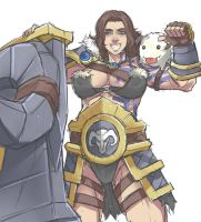 Rule63 Braum by Exaxuxer