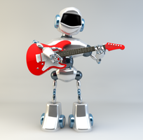 Musical Robot by sime242