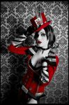 Borderlands - Mad Moxxi - Preview by Katy-Angel