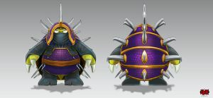 Rammus_Ninja Rammus by The-Bravo-Ray