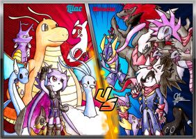 Pokemon Battle! Champion Lilac vs Elite 4 Spade by Aramayo93