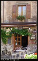 Cafe in the Piazza by roodpa