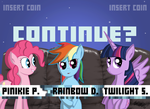 Continue? by ZSparkonequus