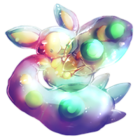 Shiny Reuniclus by Ravoilie