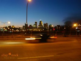 street - Minneapolis by alfajr-stock