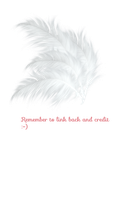 Hat Feathers PNG stock by KarahRobinson-Art