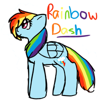 Rainbow Dash by TwistedAnchor