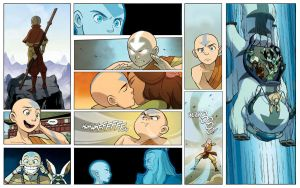 Aang Collage by P94T