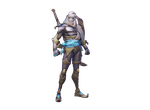 [Overwatch] Transparent Nomad Genji by SonicandRBisawesome