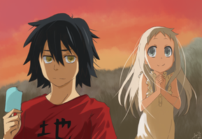 Anohana - In August by anonamos701