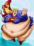Fat SuperGirl 3 by Ray-Norr