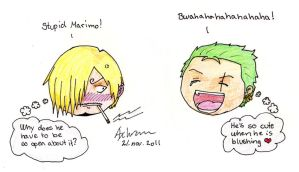 stupid marimo colour by Schram92