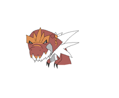 Here have a Tyrantrum. by Helkie-three