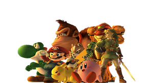 Super Smash Bros.: The Veterans!! by NintendoFanDj