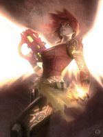 The Firehawk -  Borderlands by AlexGarner