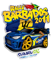 Rally Barbados 2011 by BreadX