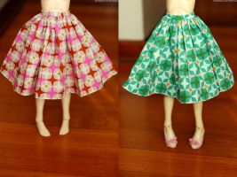 SD 50s Skirts by kawaiimon