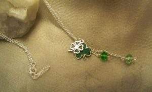 Mael Shamrock special-necklace by Destinyfall