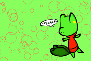 treecko chibi by Kat-The-Piplup