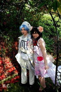 Idea and Ririka by PLOMcosplay