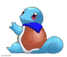 Mitchy's Squirtle by BlueCea
