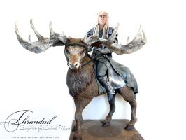 Thranduil Sculpture- lord of the rings by Hidden-Treasury