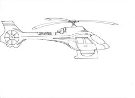 Higurashi's Helicopter by Eriopsis