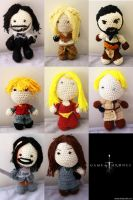 Game of Thrones Dolls by Nissie