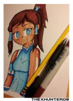 Style Test-Korra by TheXHunter08