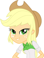 Equestria Girls Applejack by nero-narmeril