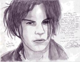 Jack White drawing by LittleRedbox