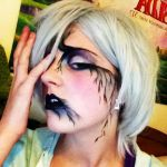 Willow tree inspired makeup by Chibi-MsHollowfox