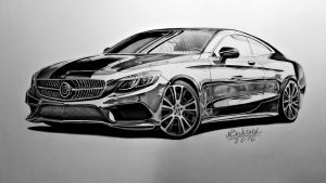 Mercedes Benz S 63 AMG Coupe BRABUS Realistic by MaxBechtold
