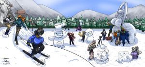 Winter Resort 02 Colored by Anubis2Pabon288