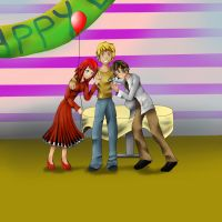 Happy birthday cooper xD (contest entry) by Mirahu