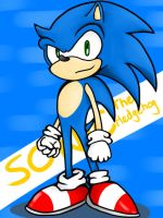 Sonic ,The Blue Hedgehog is back... by NSYee36