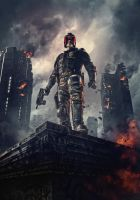 Dredd [Hi-Res Textless Poster] by ihaveanawesomename
