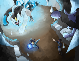 Face off with Black Kyurem! by Tetsuya-M