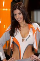 Motorshow Essen 2009 girl 6 by karabasik