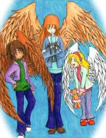 Maximum Ride Girls by SpiralNinja05