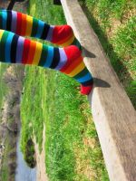 Rainbow Socks VII by zech80